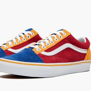 Vans Old Skool Corduroy Skate Shoes Men's Primary